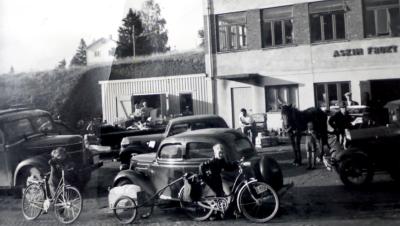 Bilde fra 50 tallet Askim Frukt -og Bærpresseri