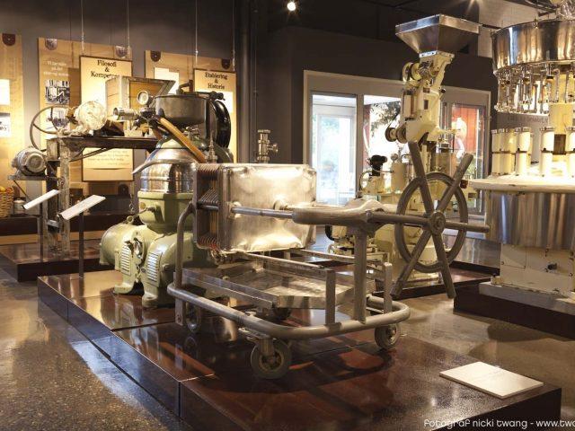 Bilde fra museet ved Askim Frukt -og Bærpresseri