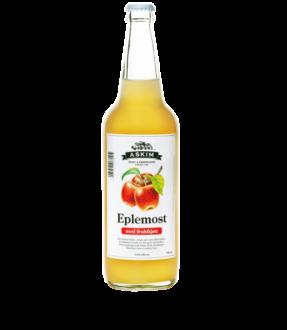 Eplemost med fruktkjøtt 0,7 liter